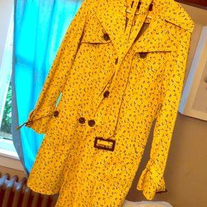 Steve Madden giraffe trench coat